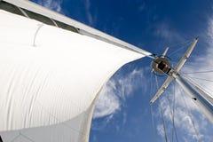 帆柱风船 库存图片