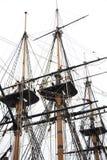 帆柱 免版税库存照片