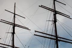 帆柱 免版税图库摄影