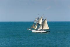 帆船在Camogli 免版税库存照片