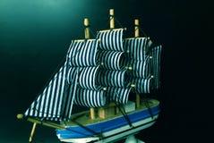 帆船模型 库存照片
