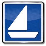 帆船的航海执照 免版税库存照片