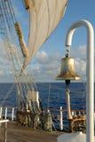 帆船的详细资料 免版税库存照片
