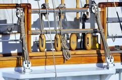 帆船的详细资料 图库摄影