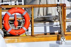 帆船的详细资料 免版税库存图片