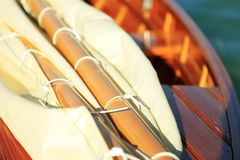 帆船,乡愁,在湖的夏天,叫Lateiner,一艘老帆船 库存图片