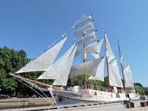 帆船,立陶宛 库存照片