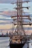 帆船-都伯林-爱尔兰 免版税库存照片
