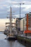 帆船-都伯林-爱尔兰 图库摄影