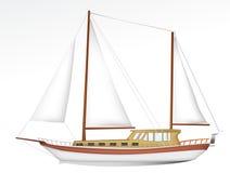 帆船 图库摄影