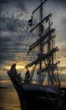 帆船 库存照片