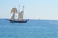 帆船Oostershelde 库存照片