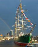 帆船Rickmer Rickmers 免版税库存图片
