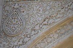 希尔万沙宫殿在老镇巴库,阿塞拜疆首都 库存照片