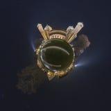 希尔德斯海姆360度全景 免版税图库摄影