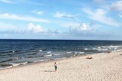 希尔斯伯勒角海滩 免版税图库摄影