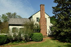 希尔斯伯勒角, NC :1790狄克逊议院 库存照片