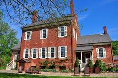 希尔斯伯勒角, NC :1815艾尔登上种植园 图库摄影