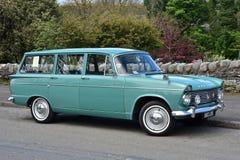 1963年希尔曼超级风骚女子旅行车 免版税库存图片