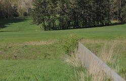 希尔波尔茨泰因,德国- 2017年4月18日:Scheitelhaltung,指示欧洲意义重大的一个石墙在莱茵河主要多瑙河运河 免版税库存图片