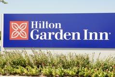 希尔顿庭院旅馆,孟菲斯, TN 库存照片