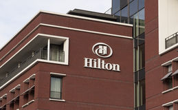 希尔顿饭店在海牙 免版税库存图片