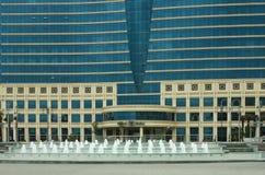 希尔顿饭店在巴库,阿塞拜疆 库存图片