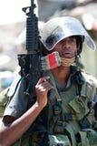 希布伦以色列职业战士 免版税库存图片