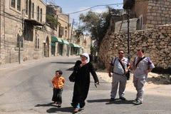 希布伦-以色列 库存照片