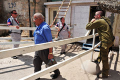 希布伦-以色列 库存图片