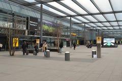 希思罗机场终端3 免版税图库摄影