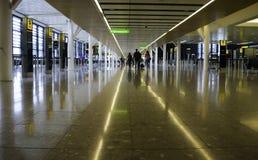 希思罗机场-终端2 免版税库存照片