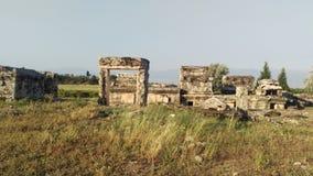 希拉波利斯,土耳其 库存图片