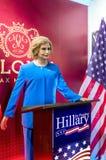希拉里・克林顿雕象 图库摄影