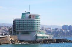 希拉顿文华大饭店和会议中心在比尼亚德尔马,智利 免版税库存图片