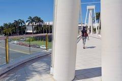 希拉顿海市蜃楼手段&温泉英属黄金海岸昆士兰澳大利亚 图库摄影