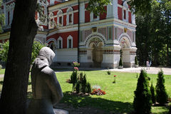希普卡纪念教会,一个东正教教会在保加利亚 免版税图库摄影