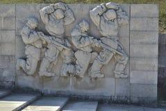 希普卡纪念碑 免版税库存图片