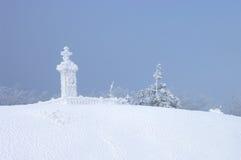 希普卡纪念碑 免版税库存照片