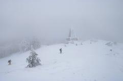 希普卡纪念碑 库存图片