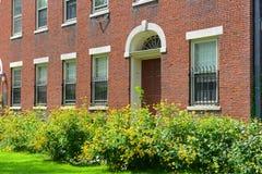 希望学院大厦在布朗大学 免版税库存照片