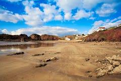 希望小海湾,南火腿,德文郡英国 免版税图库摄影