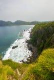 希望报小山, Sangiang海岛,万丹省 印度尼西亚 免版税库存图片