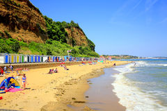 希望海滩, Shanklin,怀特岛郡 免版税库存照片