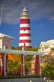 希望镇Harboour, Abaco,巴哈马 库存图片