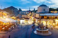 希波克拉底广场 免版税库存照片