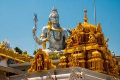 希瓦阁下雕象在Murudeshwar 寺庙在卡纳塔克邦,印度 库存照片