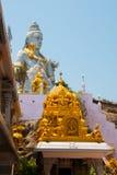 希瓦阁下雕象在Murudeshwar 寺庙在卡纳塔克邦,印度 免版税库存照片