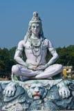 希瓦雕象在Rishikesh,印度 免版税图库摄影