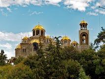 希腊东正教建筑,希腊 库存照片